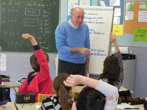 atelier d'écriture dans le cadre du printemps des poètes 2014 école Saint-Jory