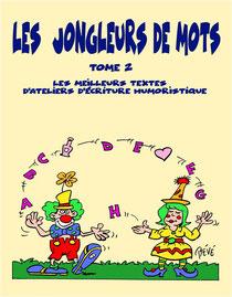 1er livre des jongleurs de mots (1ère de couv. de Marie-Edith Demay)