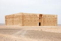 Qasr Al Kharanech en plein désert