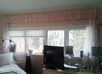 Gathered Valance Curtains