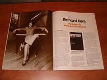 An article about Richard Kerr appearing in the April 1979 issue of Songwriter magazine.