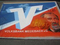 Eigener Entwurf zum Geburtstag der Volksbank Medebach, Lydia Hitzfeld