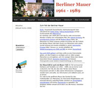 Screenshot www.mauerfall-berlin.de