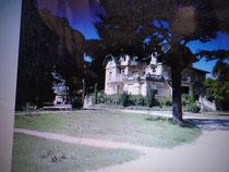 carpentrasの城 roseraie