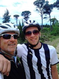Mit Jan in den Bergen von Sithonia