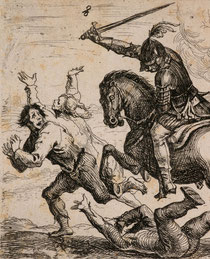 """Hans Ulrich Franck: """"Der Geharnischte Reiter"""" (1643)"""