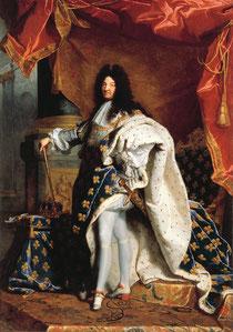 "Hyacinthe Rigaud: ""Ludwig XIV"" (1701)"