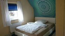 Mandala und neues Bett