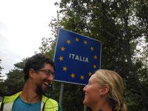 On est en Italie!