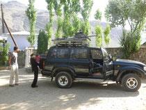 Khorog-Dushanbe a velo ou presque