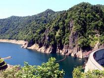 優しい「気」がただよう豊平峡ダム