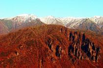 晩秋の層雲峡