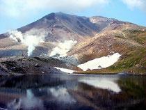 旭岳山頂・姿見の池