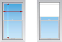 Замер. Рулонные шторы Lux