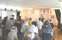カトリック千歳教会ミサ 北海道 空港近い 旅行 祈り イエス
