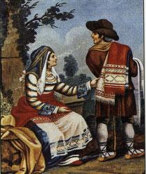 Costume antico di Pietransieri