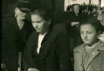 Virginia Macerelli a sinistra e a destra Pia Cocco