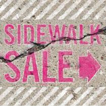 sidewalk sale, Rehoboth, spring sale, Rehoboth main street, shopping