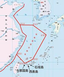 中国国防省が発表した東シナ海の防空識別圏(同省ホームページより)