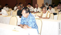 八重山森林組合の通常総会が開かれた(28日午後)