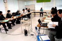 高等教育機関等誘致可能性委員会の第3回会合が開かれた=20日午後、市教委