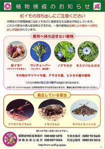 植物防疫法をPRするリーフレット