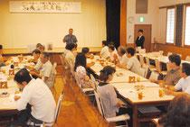 伊舍堂中佐と隊員の顕彰碑建立期成会の設立総会が開かれた(18日)
