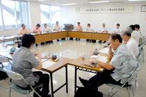 教育施策に関する八重山地区協議会が開かれた=23日午前、八重山教育事務所