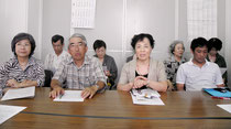 橋下氏の発言に抗議した10団体の代表ら