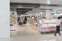 新空港のショッピングゾーン