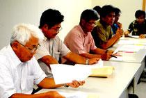 石垣島バイオマス事業推進協議会の初会合が開かれた=10日午後、市健康福祉センター