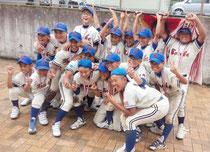 阿波踊りカップに続き、九州選抜も制した少年スネーク=25日、北九州市(父母会提供)