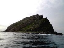 尖閣諸島の南小島(2012年)。国土利用計画の見直し作業では、公募委員のワークショップで尖閣を観光で活用するよう求める声も