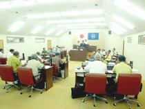 竹富町議会9月定例会が開会した=6日午後、町議場