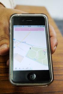 石垣島ウェルネスアプリの画面