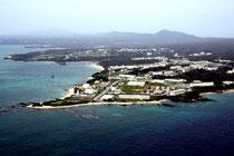 米軍普天間飛行場の移設問題で注目される米海兵隊キャンプ・シュワブ。名護市辺野古区の民意は「移設容認」だ