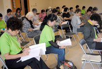 いしがき女性9条の会の定期総会が開かれた=21日午後、八重山平和祈念館