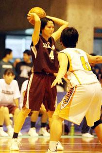 沖縄代表チームに選抜された新垣選手(提供写真)