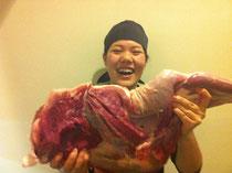 ジビエ 猪の太もも肉
