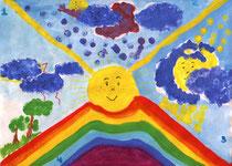 """""""Пусть всегда будет солнце"""" Захарова Вероника, 11 лет"""