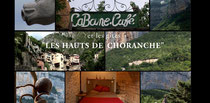 Cabane Café et gîtes Les Hauts de Choranche