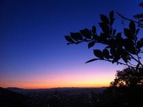 美しい朝焼けに感動!2011/12/13撮影