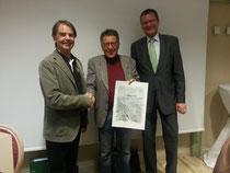Gerald Aichner, Martin Posch, Andreas Ermacora (vlnr)