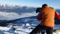 ZDF Doku: Dreh bei der Glungezerhütte