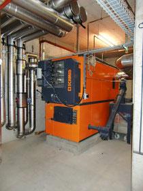 Holzfeuerung 350 kW, 2011 (Bild ADEV)