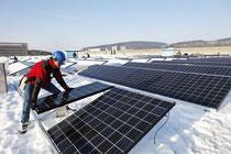 PV 452 kWp, Dez 2010 (Bild ADEV)