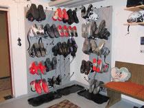 beheizter Schuh und Trockenraum