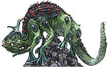 Le Basilic, lézard géant du chaos