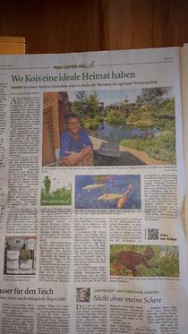 Die Ostfriesen Zeitung stellt Gärten in der Region vor