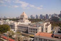 国会事務所からの眺め